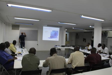 Nova Sotecma Estreia Centro De Formação Com Duas Acções De Formação Para A Nova Cimangola