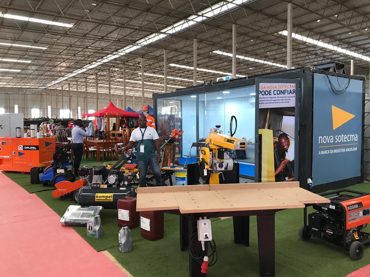 A Nova Sotecma na 1ª edição da Feira das Indústrias do Mobiliário e Madeira de Angola (FIMMA)